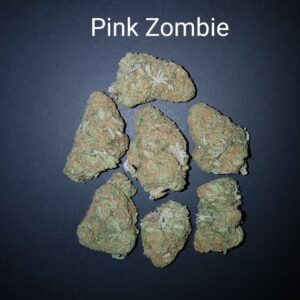 83773090 Pink Zombie AAAAAQuad strain Weed Bud Dispensary weedmaps Canna West CannaWest Toronto GTA Greater Area Etobicoke North East York Downtown cannabis special delivery