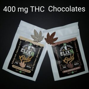 84860759 chocolate 400mg THC