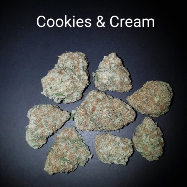 87561630 Cookies   Cream Cleverly named for how instantly the high hits you  White Lightning is like a bolt striking your head. A balanced 5050 hybrid from British Columbia Seed Company  it s the lovechild of
